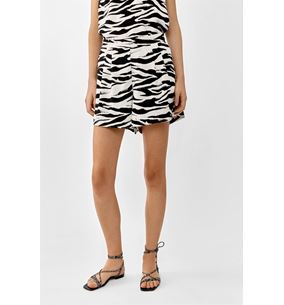 Cleo Shorts Graphic Zebra